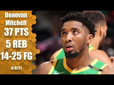 Donovan Mitchell drops 37 in Jazz's win over Blazers!