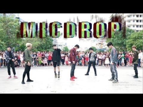 [KPOP IN PUBLIC CHALLENGE] BTS (방탄소년단) 'MIC Drop'   Dance Cover   B.K.A.V   Phố đi bộ Nguyễn Huệ