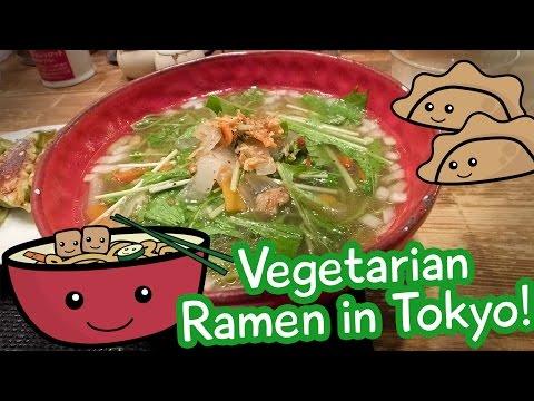 Vegetarian Ramen in Tokyo - Chabuton, Akihabara