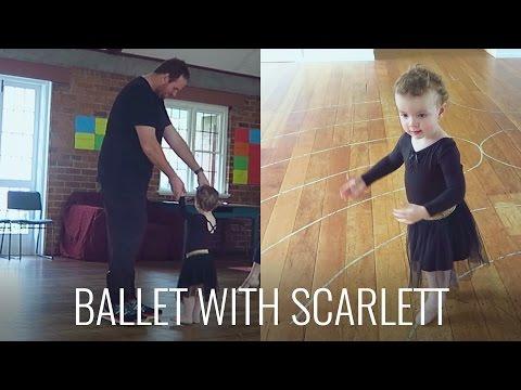 TAKING SCARLETT TO BALLET CLASS