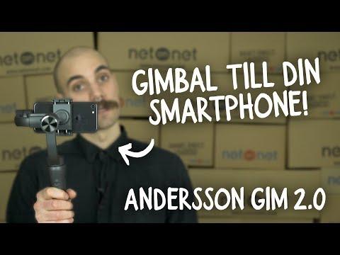 NetOnNet: Andersson GIM 2.0 (gimbal till din smartphone)