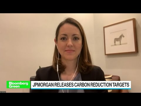 JPMorgan Pledges to Cut Carbon Emissions