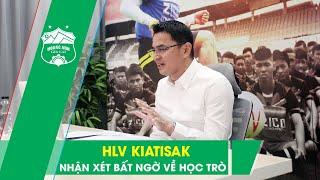 HLV Kiatisak chia sẻ điều bất ngờ về Văn Toàn, Tuấn Anh trong buổi ra mắt truyền thông | HAGL Media
