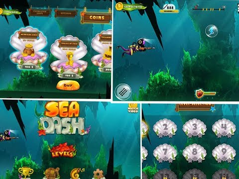 Sea Dash: Underwater Survival Game
