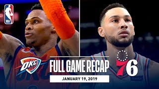 Full Game Recap: Thunder vs 76ers | OKC & PHI Battle Down To The Wire!