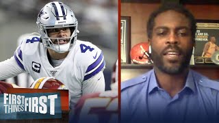 Brady's rep and resume gives Bucs confidence, Cowboys ceiling — Vick | NFL | FIRST THINGS FIRST