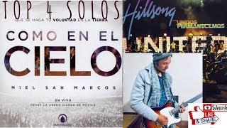 COVER DE🎸4 SOLOS FAVORITOS DE MIEL SAN MARCOS Y HILLSONG PARTE 1|