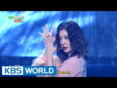 SUNMI - Full Moon | 선미 - 보름달 [Music Bank Year-end Chart Special / 2014.12.19]
