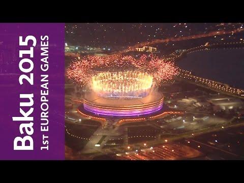 Full Replay of the Baku 2015 European Games Closing Ceremony | Baku 2015 European Games