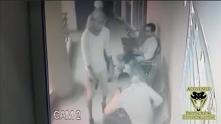 Armed Robbers Want Gold, Get Lead