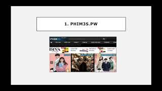 Top 10 trang web xem phim online tốt nhất.