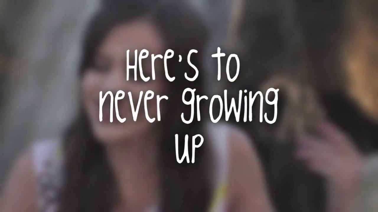 Megan Nicole - Here's To Never Growing Up Lyrics (Cover ...