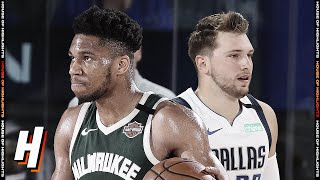 Milwaukee Bucks vs Dallas Mavericks - Full Game Highlights | August 8, 2020 | 2019-20 NBA Season