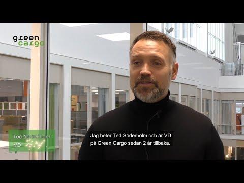 Green Cargo 20 år - Ted Söderholm