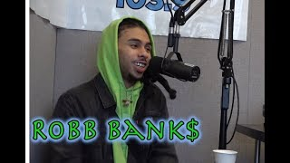 Robb Bank$ Talks About His Father Shaggy, Birdman + Jaquees King Of R&B