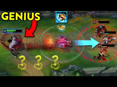 SMARTEST MOMENTS IN LEAGUE OF LEGENDS