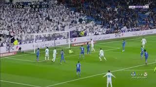 اهداف ريال مدريد و خيتافي ٣-١     -
