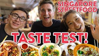 MUST TRY SINGAPORE Street Food!