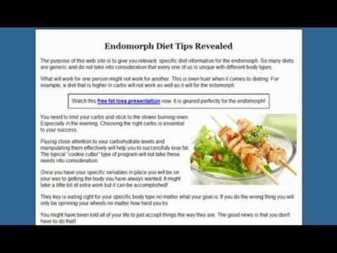 The Only Endomorph Diet And Training Guide You'll Ever Need