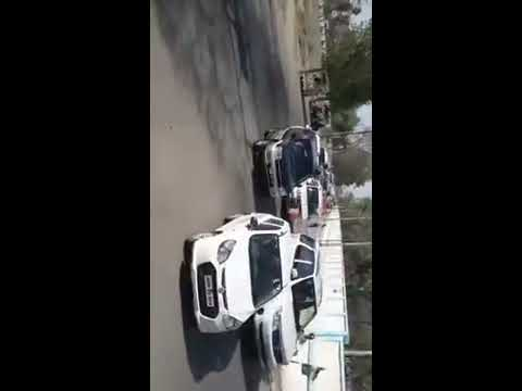 Mitendra Darshan Singh with his supporters convoy