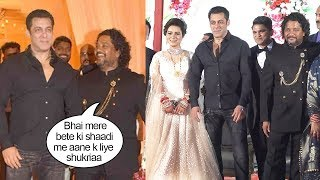 Salman Khan Amazed His Makeup Man By Attending His Son's M..