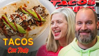 Tom Segura and Christina P Roast Each Other While Eating Tacos   Tacos Con Todo