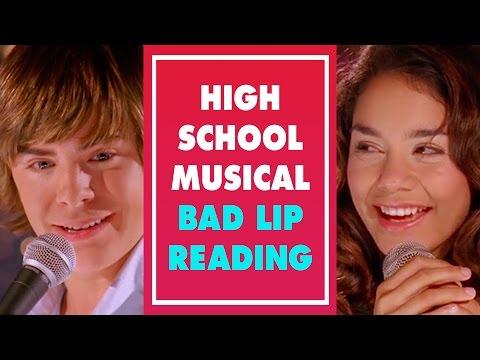 High School Musical Bad Lip Reading | Zac & Vannessa | Oh My Disney