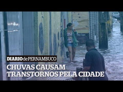Chuvas e alagamentos no Recife