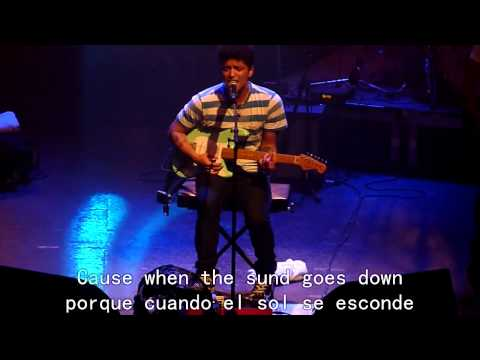 Baixar Bruno Mars - Talking To The Moon.sub ingles español en vivo