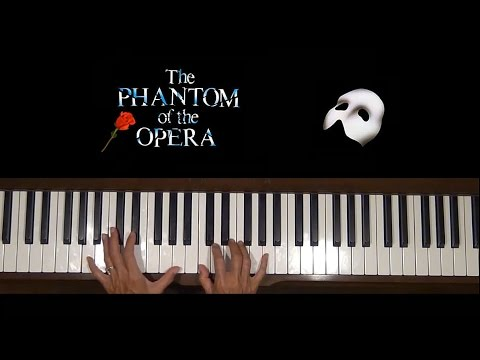 Angel of Music Phantom of the Opera Piano Tutorial at Tempo