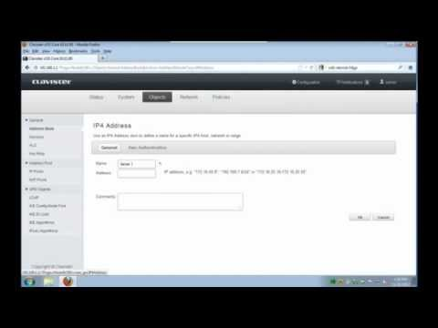 Clavister Education - publishing Web and Mail Server How-to