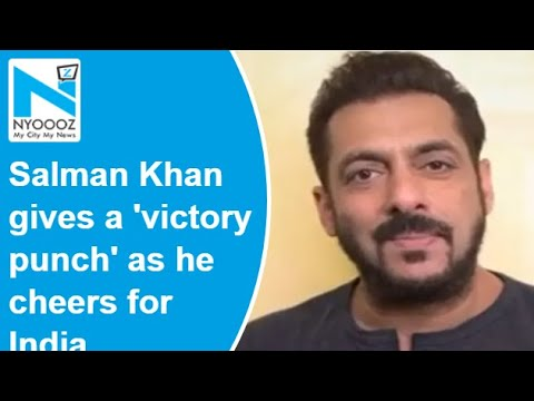 Tokyo Olympics: Salman gives a 'victory punch' as he cheers for Indian contingent