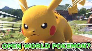 OPEN WORLD POKEMON GAMES? HUGE INTERVIEW WITH JUNICHI MASUDA ABOUT THE FUTURE OF POKEMON!