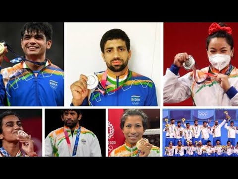 Felicitation of the Tokyo Olympics medal winners by Sports Ministry