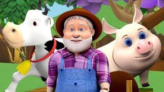 Các nông dân trong Dell | bài hát cho trẻ em | The Farmer in the Dell | Little Treehouse Vietnam