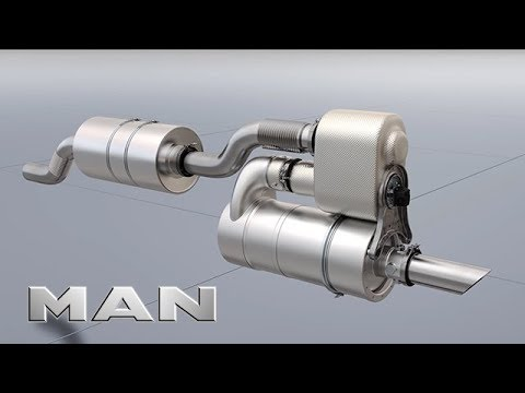 MAN Engines - Modular exhaust after-treatment system