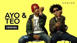 "Ayo & Teo ""Rolex"" Official Lyrics & Meaning 