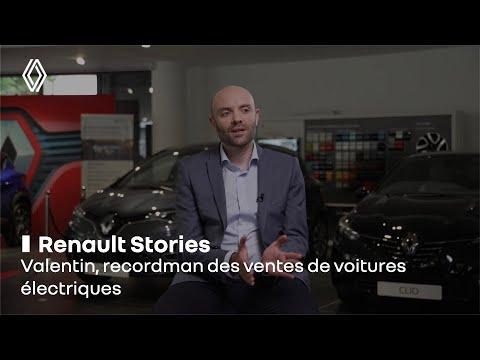 Valentin, recordman des ventes de voitures électriques | Renault Group