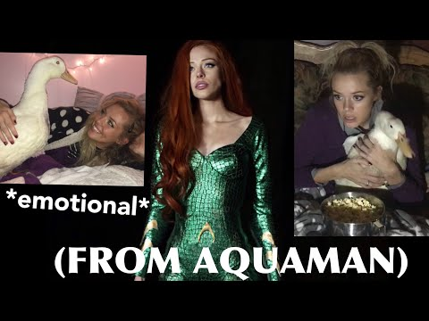 Making A Mera Costume FT. Duck Funeral