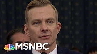 President Donald Trump Role In Ukraine Scheme Uncontested After Hearings | Rachel Maddow | MSNBC