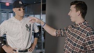 I INTERVIEWED AARON JUDGE! Full MLB The Show 18 Cover Shoot!