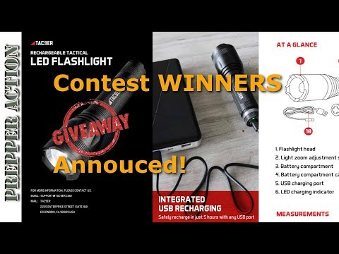 TAC9ER Contest winners announced!