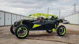 2021 Can-am Maverick x3 Xmr Turbo on 24inch rims !