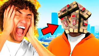 FUNNIEST Try Not To Laugh Challenge! (GTA 5)