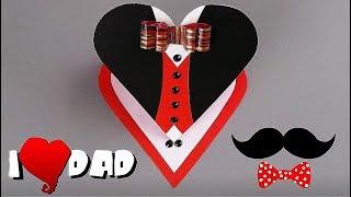 DIY - FATHER'S DAY CARD - EASY TUTORIAL / DIY CARDS