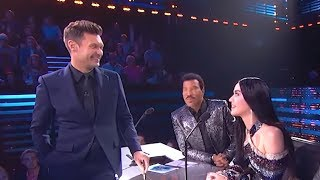 Ryan Seacrest Creeps on Katy Perry