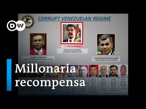 15 millones de dólares por la captura de Maduro