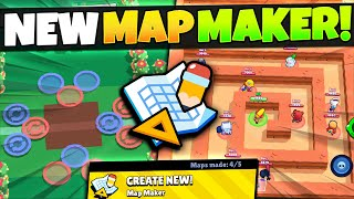 How To Use & Make EPIC Mini Game Maps with NEW Map Maker! Brawl Stars October Update! #BrawlMaps