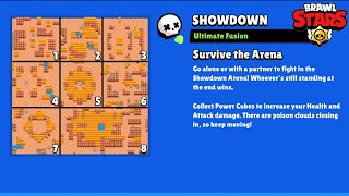 8 Showdown Maps in 1 Map😱