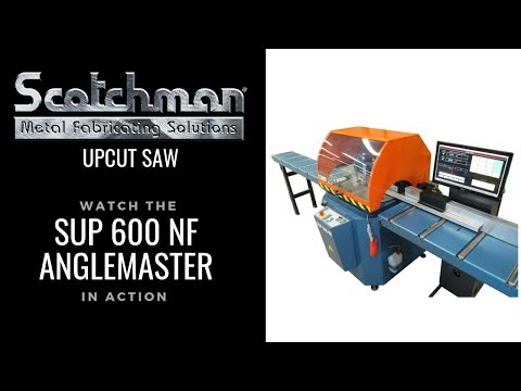 Scotchman Aluminum Cutting Saw With Programmable Mitering Feed System